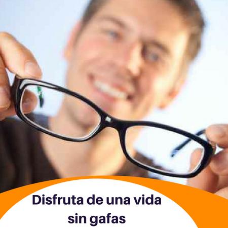 vida sin gafas - real vision