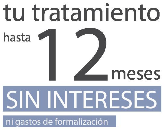 Tu tratamiento puedes financiarlo a 12 meses sin intereses - Real Visión - Clínica oftalmológica en Madrid